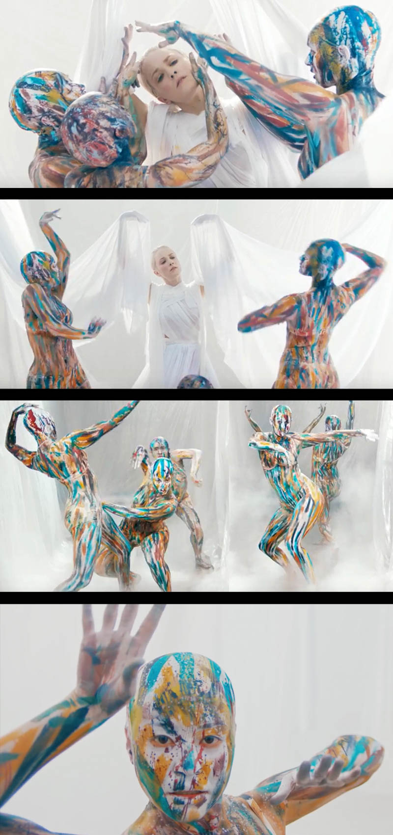 Bodypainting special fx beauty makeup Emma Louise Underflow