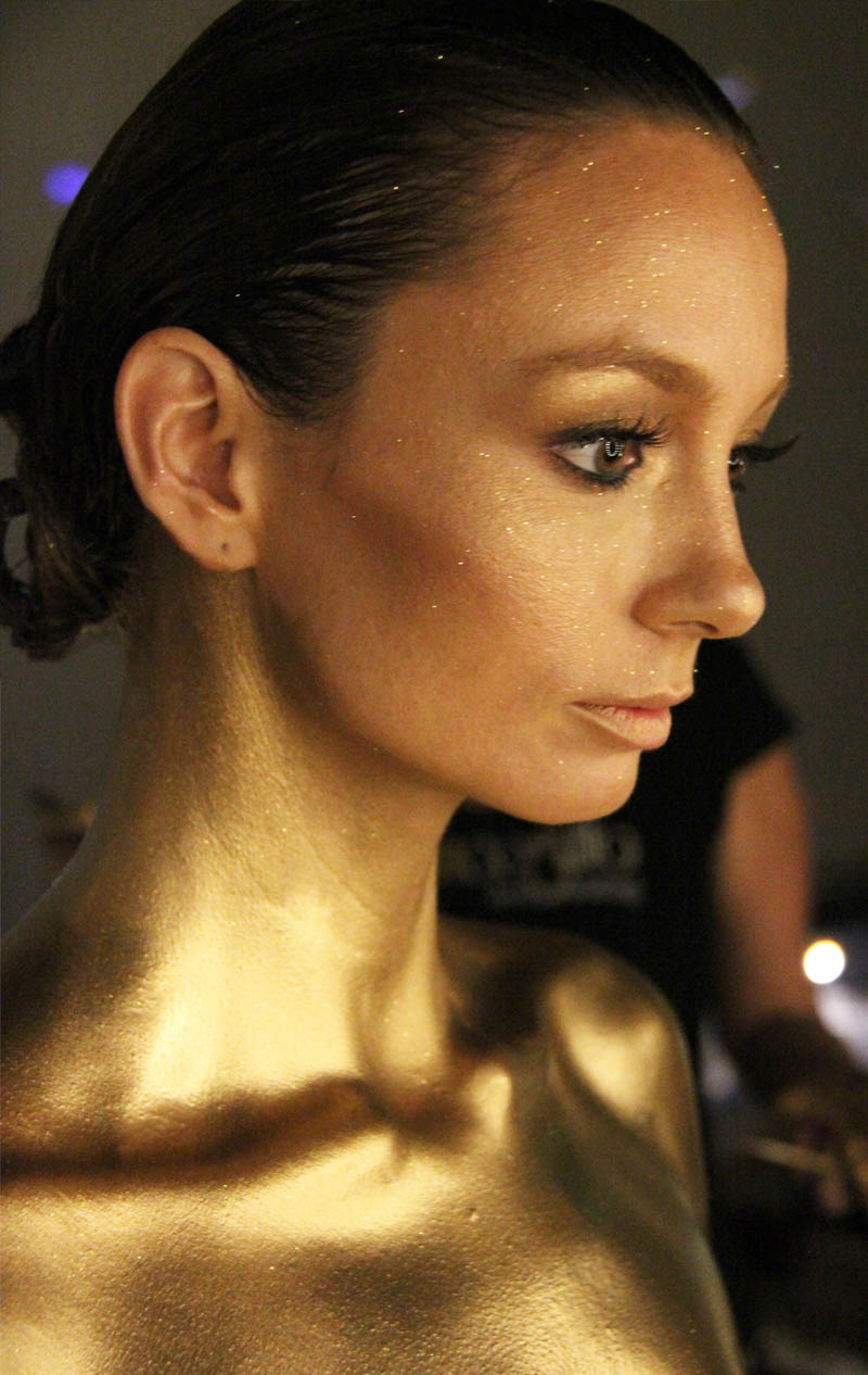 Bodypainting for Ricki Lee Coulter Music Video