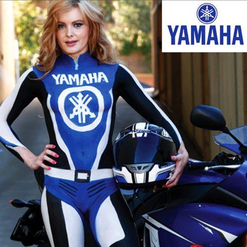 Bodypainting Yamaha Ad