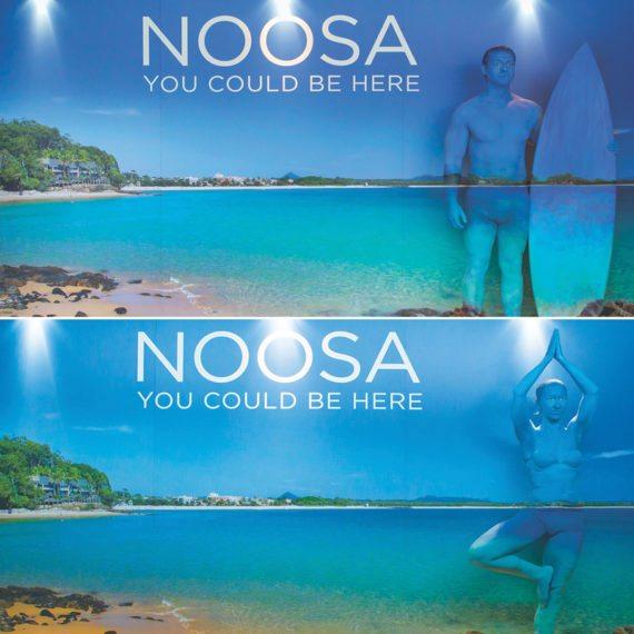Bodypainting Noosa Tourism