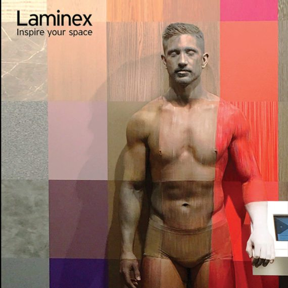 Bodypainting Laminex Product Launch