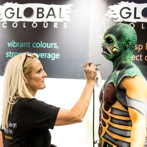 Brand Ambassador Global Body Colours Body Art