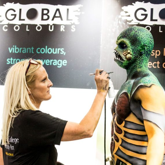 Brand Ambassador Global Body Colours Body Art