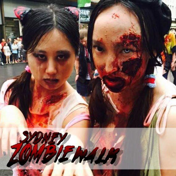 Special FX gore makeup Zombie Walk