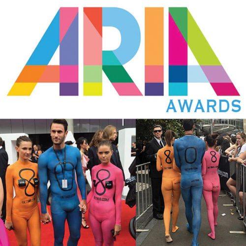 Bodypainting ARIAS MTV