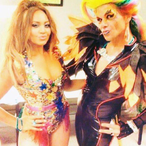 Makeup costume design Destiny Mardi Gras 2016