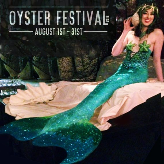 Bodypainting special fx makeup Oyster Festival