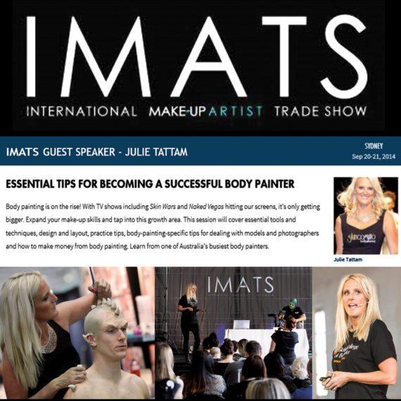 Guest Speaker International Makeup Artists Trade Show