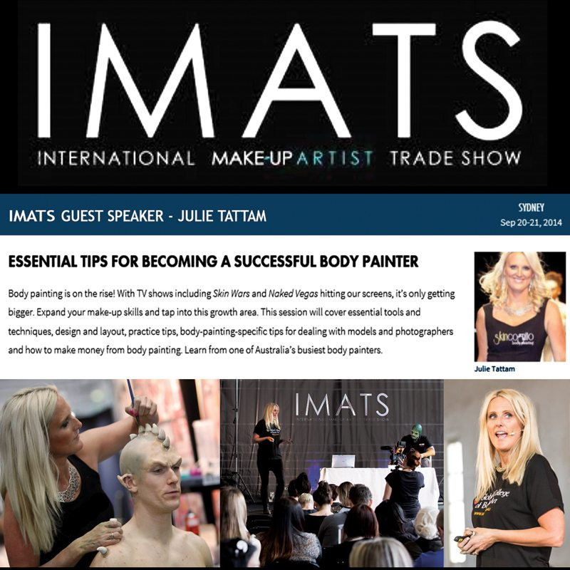 Guest Speaker International Makeup Artists Trade Show