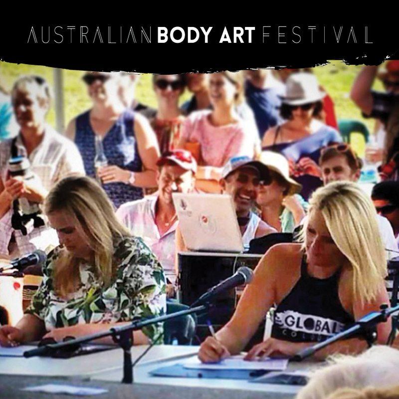 Judge Australian Body Art Festival 2015-2016-2017