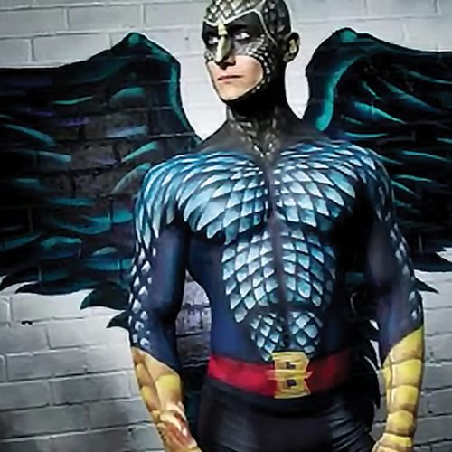 Bodypainting Birdman