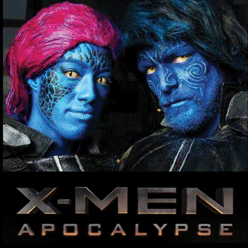 Bodypainting X-Men