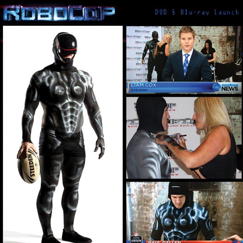 Bodypainting Robocop
