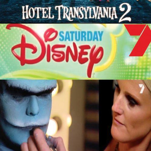 Special FX makeup bodypainting Hotel Transylvania 2