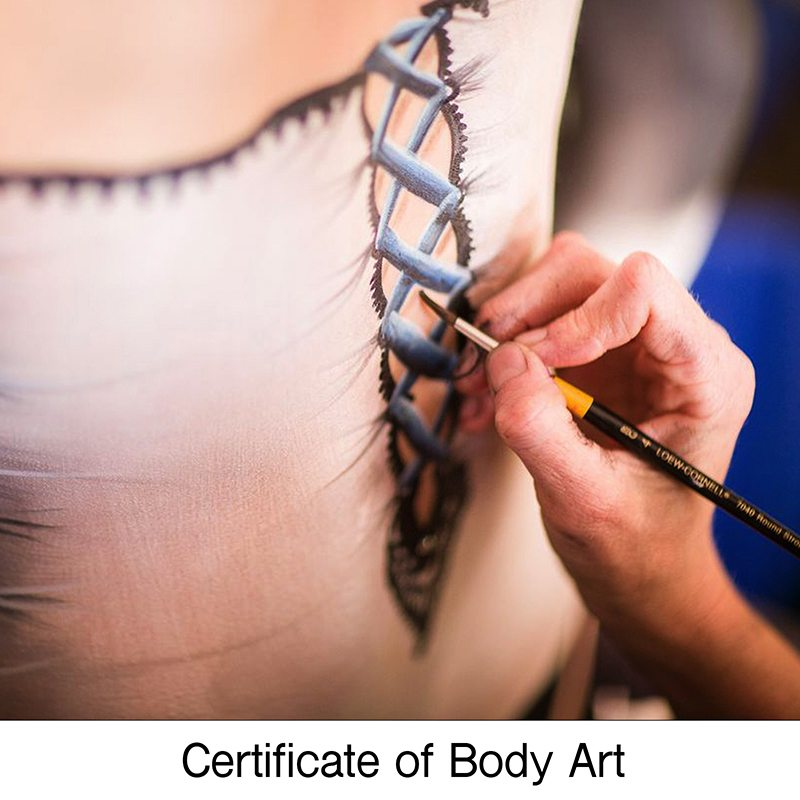 Gallery Certificate Body Art