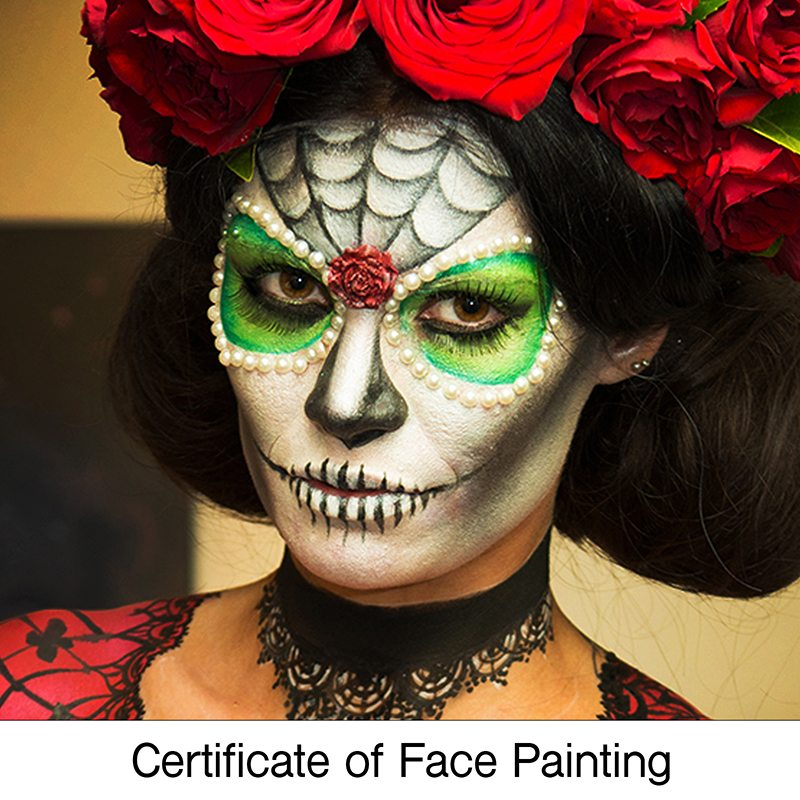 Certificate Face Painting