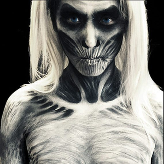 Bodypainting Halloween White walker Westpac Game of Thrones
