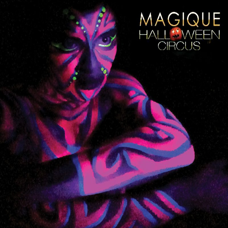 UV bodypainting Magique Halloween