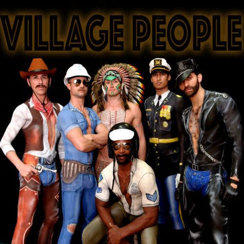 Art direction Village People