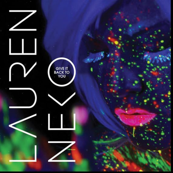 UV Neon Face Body Painting Lauren Neko Give it Back to You