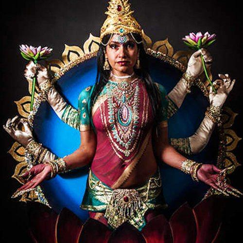 Body painting Lakshmi