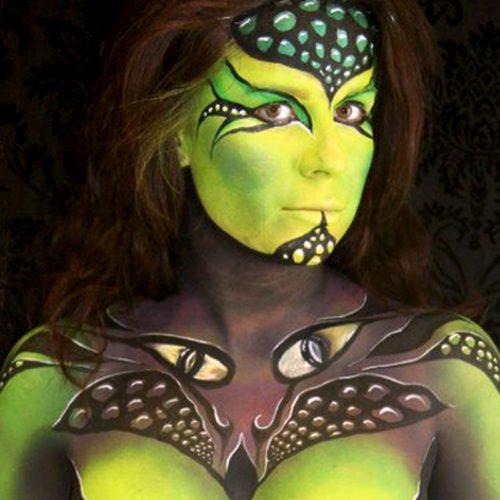 Body painting keta