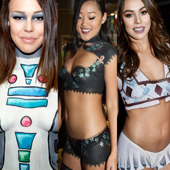 Body painting costume collection 2