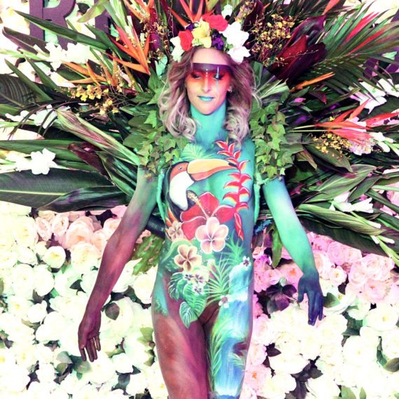 Bodypainting Runway Productions Sass Bide