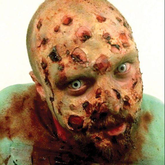 Special FX makeup zombie surgeon