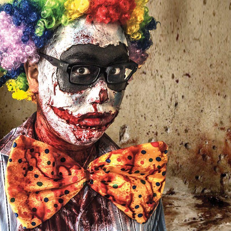 Special FX makeup zombie clown
