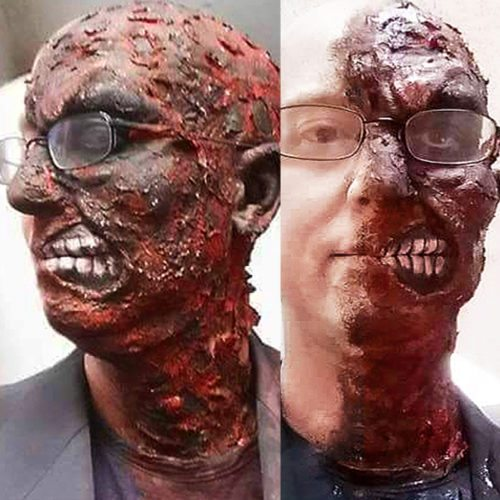 Special FX makeup brendon two face