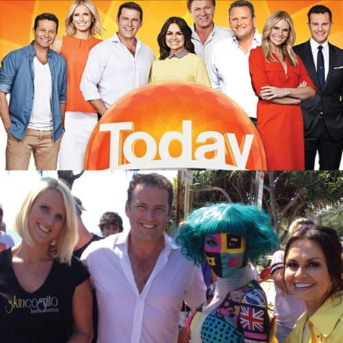 Bodypainting Today Show Nine Network