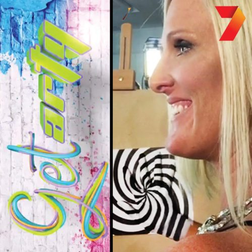 Bodypainting Channel 7 Get Arty