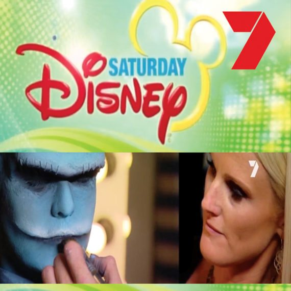 Bodypainting special FX makeup Saturday Disney 2016