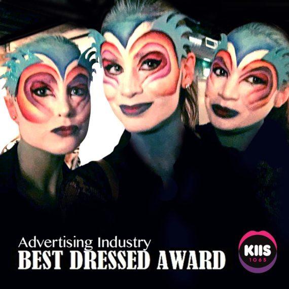 Bodypainting KISS FM Cirque makeup