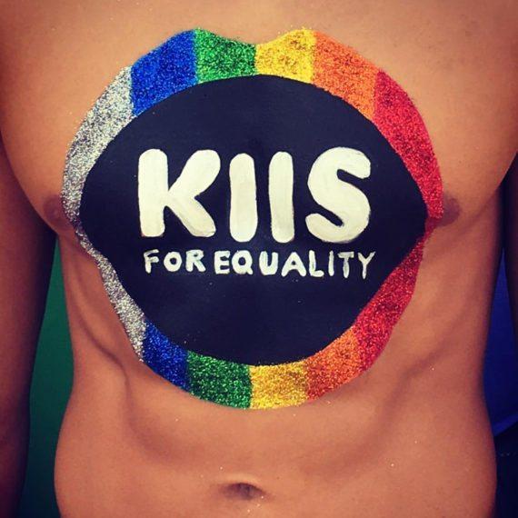 Bodypainting KIIS FM Mardi Gras