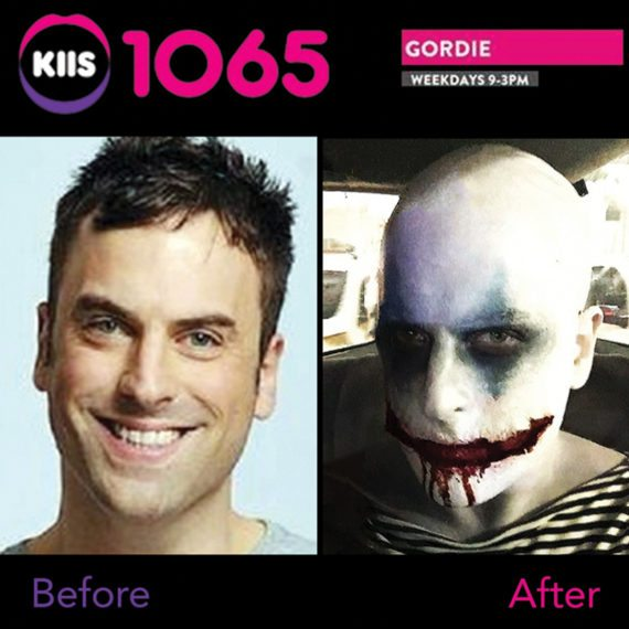 Bodypainting KIIS FM Radio Gordi Waters
