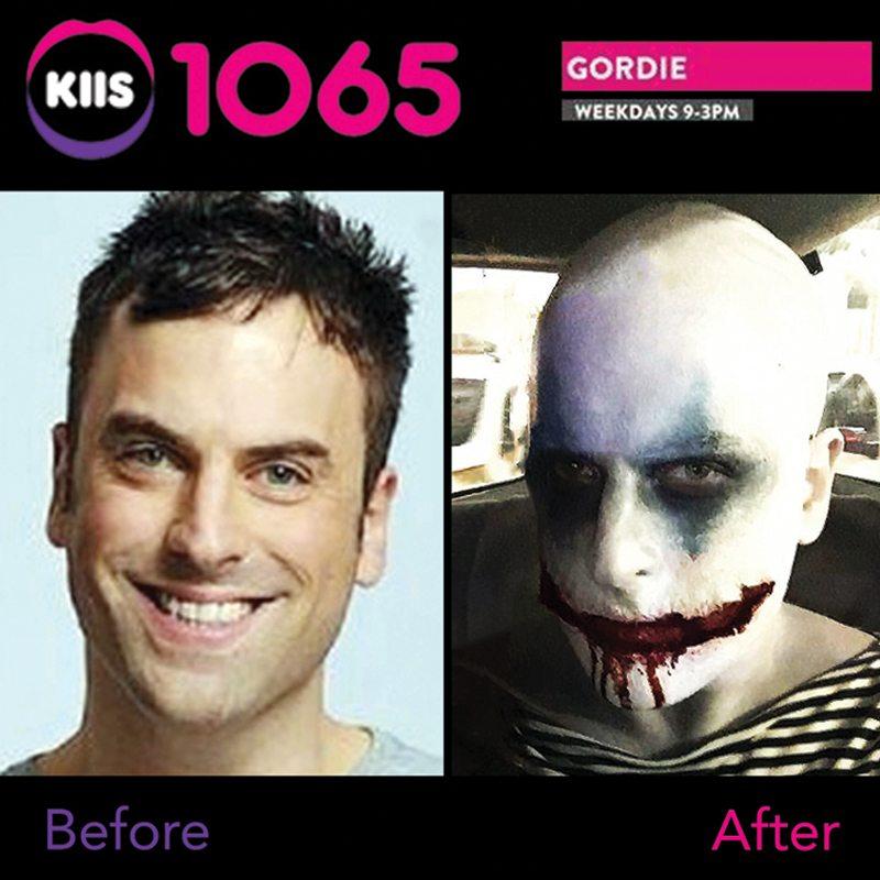 Bodypainting KIIS FM Radio Gordi Waters