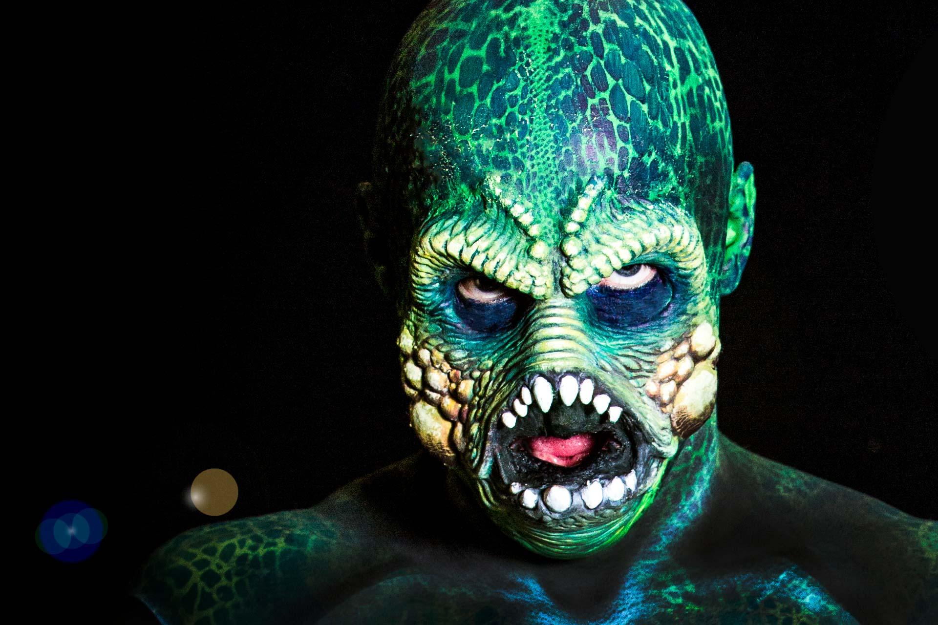 Face Painting Prosthetics Monster
