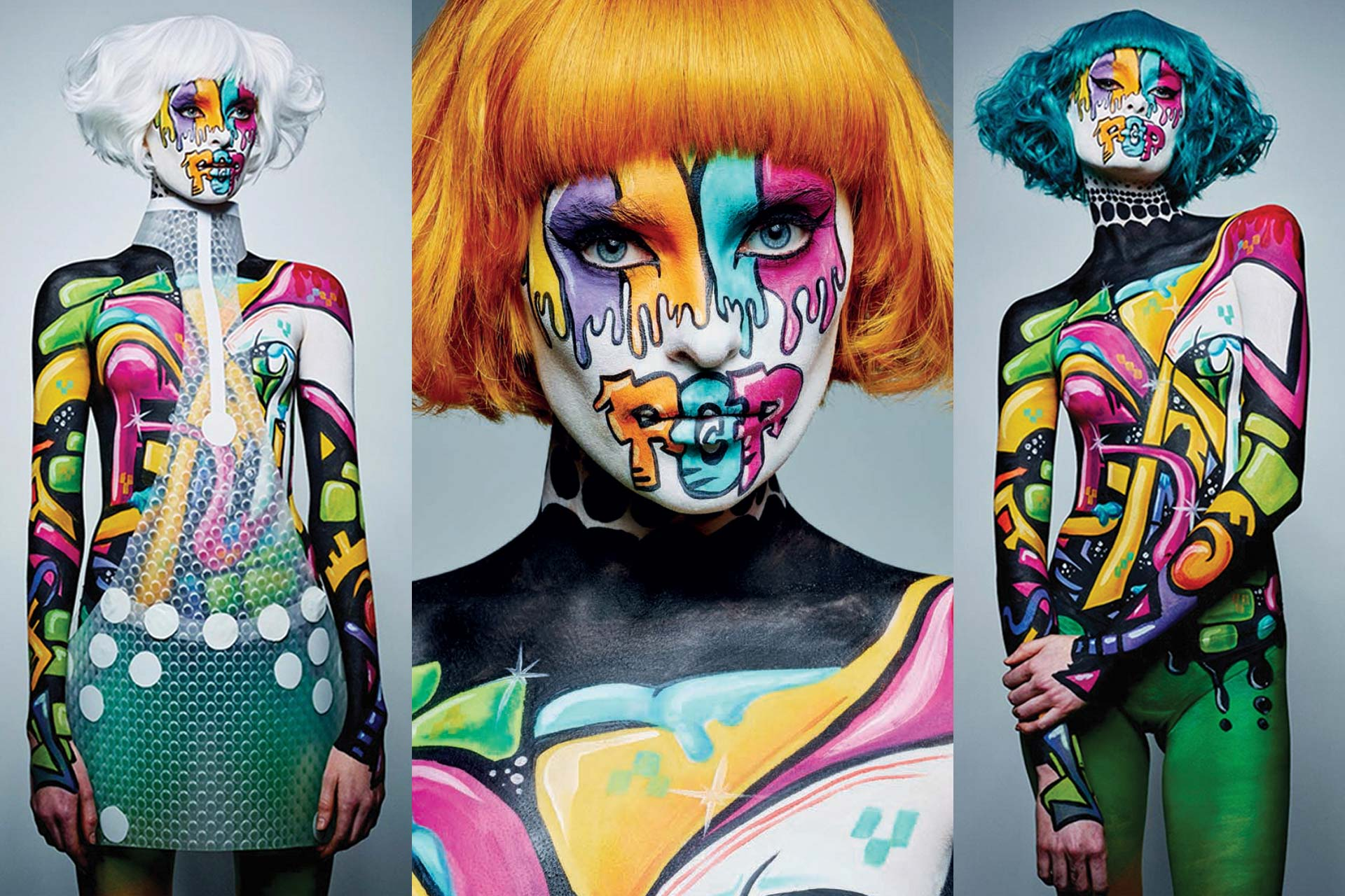 Bodypainting Graffiti Culture Magazine